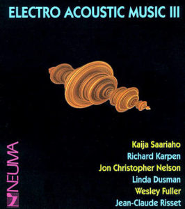 Electro Acoustic Music III cover